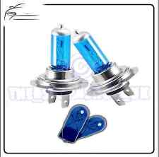 2x Replacement XENON Upgrade 12v H7 55w Bulbs & 2x Blue 501 Side Lights
