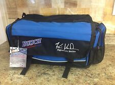 Busch Beer Kevin VanDam Signature Series Fishing Tackle Bag W/Utility Boxes
