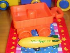 Toy Wagon & Air Blimp Dollhouse Miniature Toy fits Loving Family Dollhouse Baby