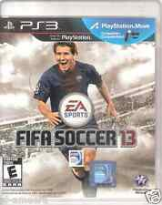 PS3 Fifa 13 for (Sony Playstation 3) Rating E Authentic Soccer Sports Action