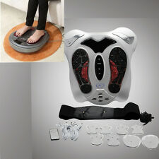 Electromagnetic Wave Pulse Circulation Foot feet Massager Reflexology Booster A+