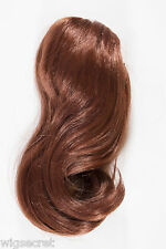 Fox Red (Clear Cool Vivid Red) Red Medium Straight Clip-in-Extension Hair Pieces