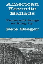 American Favorite Ballads Tunes Songs Pete Seeger Play Piano Guitar Music Book