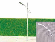S160 - Set 10 Stück Straßenlampen 1-flammig 6,5cm Peitschenleuchten