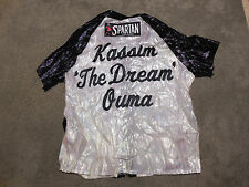 Kassim Ouma Fight Used Boxing Robe White The Dream Middleweight Champ Jacket