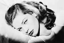 LAUREN BACALL B&W CLOSE UP GLAMOUR 24X36 POSTER PRINT