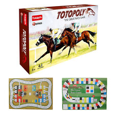 TOTOPOLY THE GREAT HORSE RACING GAME 2-6 PLAYERS FAMILY PARTY FUN SKILL AND LUCK