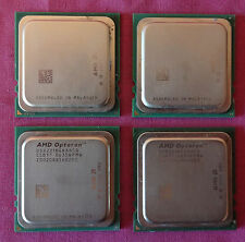 4 x AMD OSA2218GAA6CQ Opteron 2218 2.6 GHz Dual-Core Socket F Processor / CPU