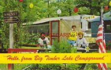 1984 BIG TIMBER LAKE CAMPGROUND, CAPE MAY COURT HOUSE, N. J. family & trailer