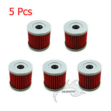 5x Oil Filter For SUZUKI DRZ 400 400E 400S 400SM LTZ400 LTR450 ATV Dirt Bike
