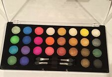 KleanColor Baked Eyeshadow Palette w/28 Wet or Dry Application Colors!