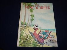 1964 DECEMBER 12 NEW YORKER MAGAZINE - BEAUTIFUL FRONT COVER FOR FRAMING- O 5027