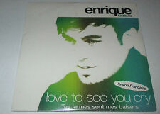 Enrique Iglesias - love to see you cry - cd single 2 titres neuf scellé 2002