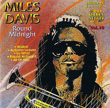 "Miles DAVIS ""Round Midnight"" World-JAZZ CD NUOVO & OVP Cosmus DSB"