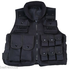 Tactical Military Molle Waistcoat Combat Assault Plate Carrier Vest ONE SIZE