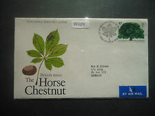 Great Britain 1974 Tree (Horse Chestnut) (Airmail To Bahrain) First Day Cover