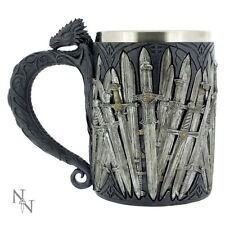 Nemesis Now - Sword Tankard with Dragon Handle - 15cm - B1940F6 -GAME OF THRONES