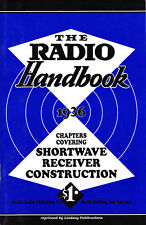 Radio Handbook 1936: Chapters Covering Shortwave Receiver Construction - Lindsay