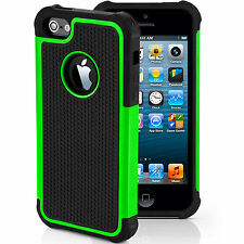 Hybrid Hard Back Silicone Shockproof Case Cover for Apple iPhone And iPOD
