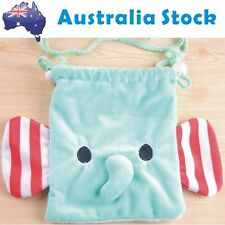 NEW Cute Animal Elephant Kid Children Drawstring Hang Bag Cosmetic Make up Bag
