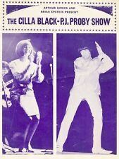 "Cilla Black / PJ Proby 16"" x 12"" Reproduction Concert Poster Photo"