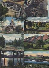 USA Minikarten Set 20x Colour Cards Colorado Landschaften, Mountains, vintage
