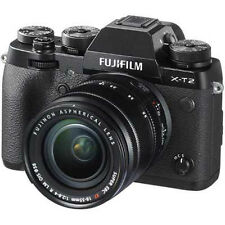 Fuji X-T2 Digital Camera Black With 18-55mm XF Lens (UK Stock) BNIB