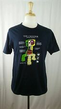OFFICIAL MOJANG MINECRAFT BLACK T-SHIRT Sz L