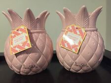 RARE- Set Of TWO, Bath and Body Works - Harry Slatkin - Pineapple Orchid Candles