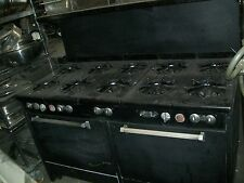 STOVE/OVENS COMBO. NAT.GAS, 10 BURNERS, 2 OVENS ON THE BOTTOM 900 MORE ITEMS