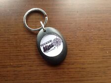 GEO CACHE GEOCACHING KEYRING LOCKER SHOPPING TROLLEY COIN GIFT PRESENT DAD