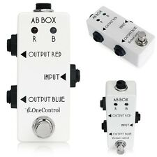 One Control Minimal Series AB Box 1-In 2-Out A/B Line Selecting Guitar Pedal