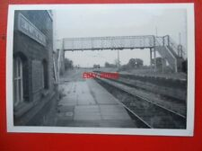 PHOTO  LONG MARSTON RAILWAY STATION VIEW TOWARDS THE FOOTBRIDGE