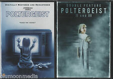 Poltergeist Trilogy 1 2 3 DVD Lot II Other Side III Collection Movie Set NEW