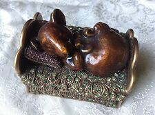 Edgar Berebi Limited Edition Sleeping Mice Mouse Trinket Collector Box