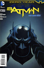 BATMAN #24 (2013) YEAR ZERO, SCOTT SNYDER, GREG CAPULLO, 1st PRINTING, NM
