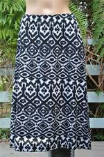 AUTOGRAPH Stretch Geometric Print B & W Skirt Size 18 NEW rrp$69.99 Comfy Waist