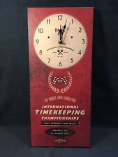 Harvey Makin Wall Clock MPH International Timekeepers Championship (ref P263)