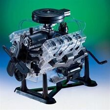 The V-8 Combustion Engine 1/4 Scale Operating Model Kit