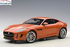 AUTOart 73653 1:18 Jaguar F-Type R Coupe 2015, Firesand Metallic Orange