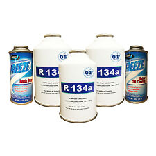 0*F R-134A Kit 3 cans of R-134a, 1 Oil Charge & 1 Stop Leak