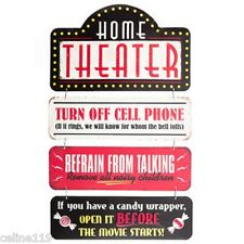 HOME THEATER Lobby SIGN Drive In Cinema Popcorn Stand Poster Movies New
