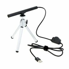 300X Mini USB Digital Microscope Endoscope Magnifier Camera 5MP w/ Tripod Black
