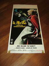 LOCANDINA,LA MORTE ARRIVA STRISCIANDO the Reptile,HAMMER,1966,John Gilling