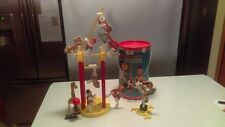 1963 Fisher Price #902 Junior Circus Play Set 100% Comp In Canister Metal Top