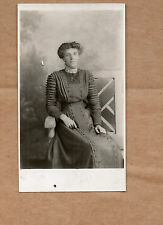 real photo of Newcastle lady in Edwardian dress Newcastle Studio  BR1
