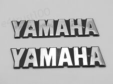 2X Decals For Yamaha RXS LS100 XS650 Fuel Gas Tank Emblem Badge Motor Stickers