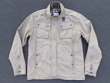 G-Star Raw Military Ripstop Jacket Size XL L Originals Army Brown Coat