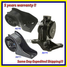 Fits: 2002-2005 Kia Sedona 3.5L Front Engine Motor & Trans. Mount Set 3PCS