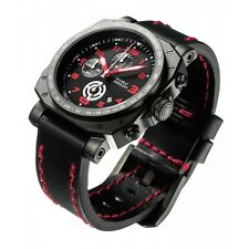 New House of Horology Bedlam Black Red Dial Mens Watch